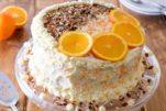 orange-carrot cake