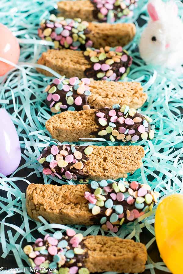 almond-vanilla biscotti