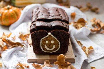 pumpkin chocolate loaf