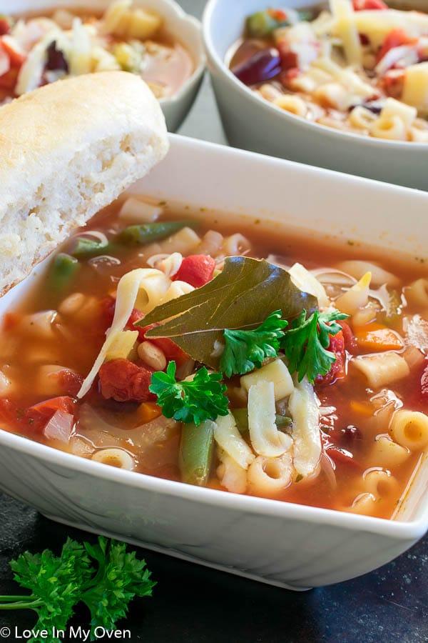Crockpot Minestrone Soup