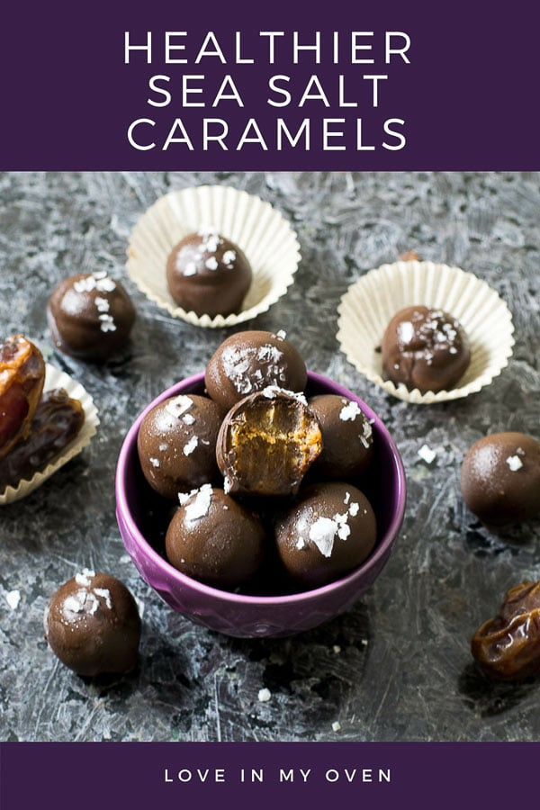 healthier sea salt caramels