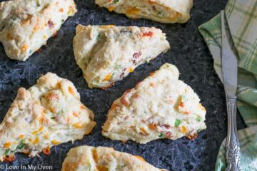 Cheesy Bacon Scones