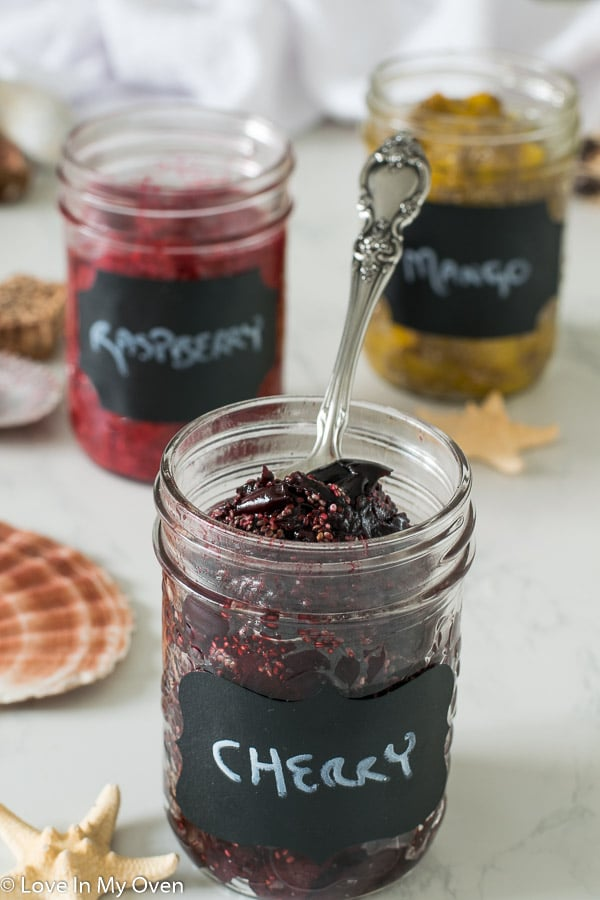 3 ingredient chia jam