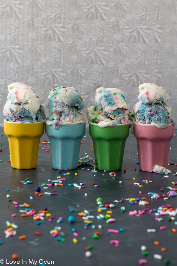 birthday cake ice cream