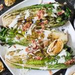 grileld caesar salad