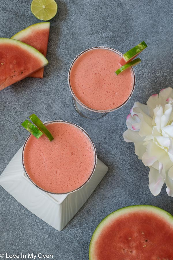 easy watermelon margarita