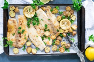 pan seared tilapia with lemon butter sauce