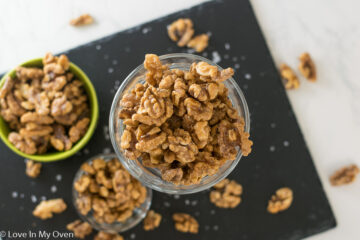 healthy candied walnuts