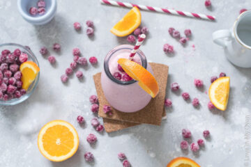 cranberry orange smoothie