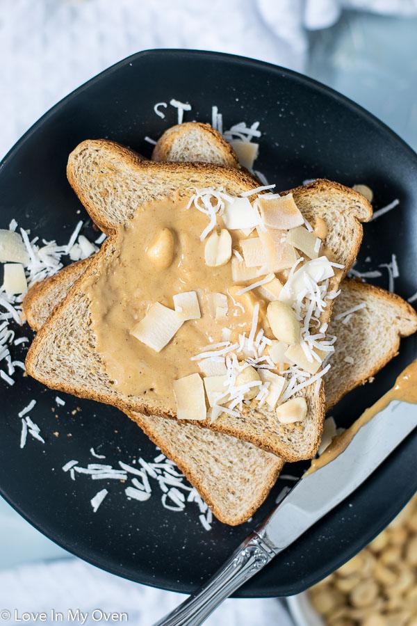 coconut peanut butter