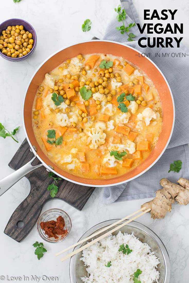 Easy Vegetarian Curry