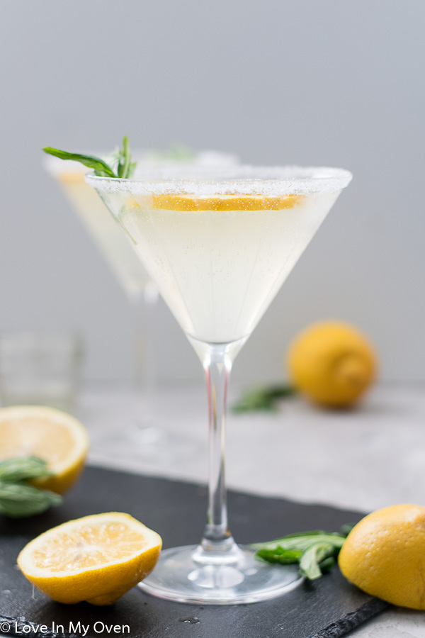 lemon vodka cocktail