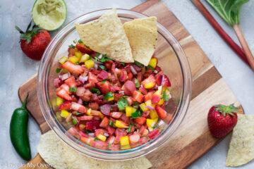 rhubarb salsa