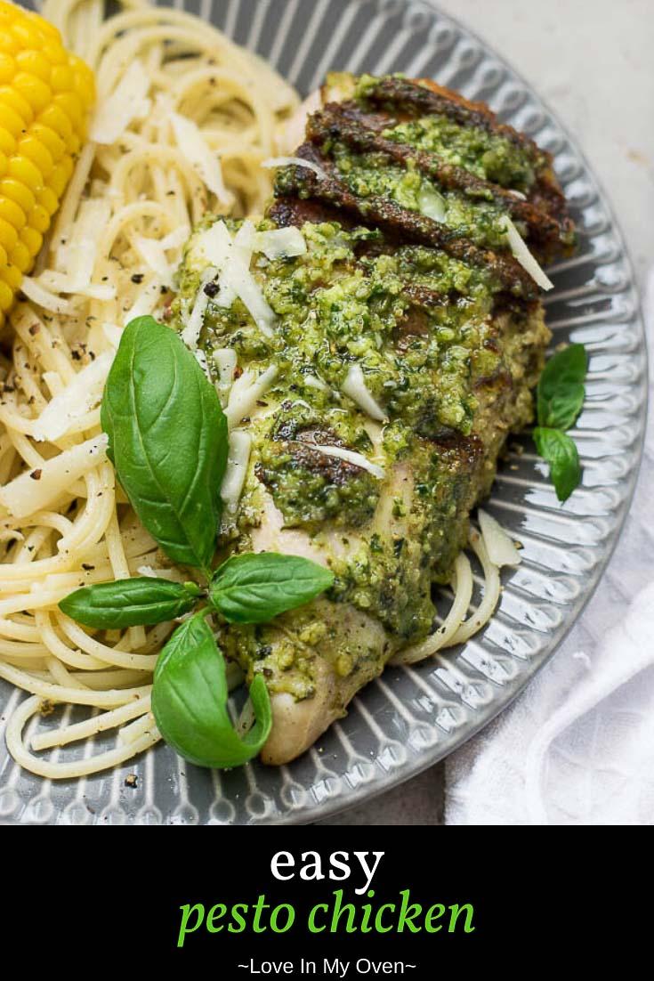 Easy Pesto Chicken