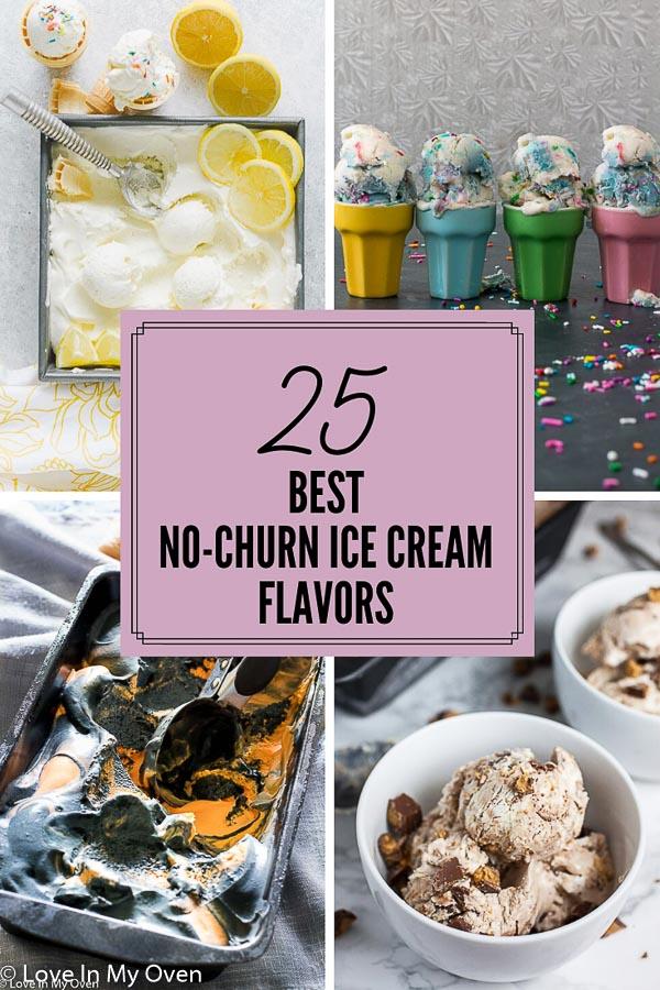 no churn ice cream flavors
