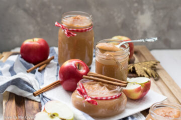 homemade unsweetened applesauce