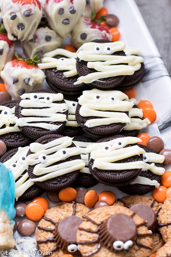 easy Halloween treats to make with kids