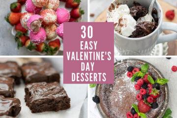 30 easy valentines day desserts